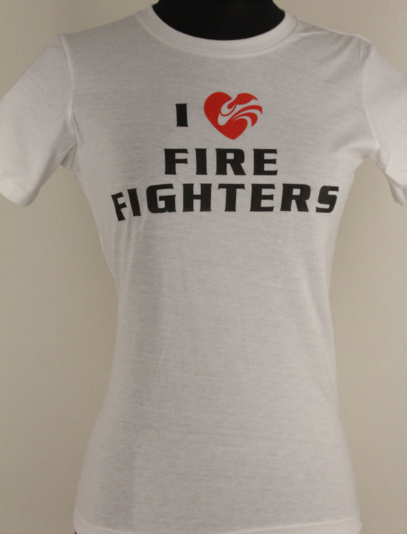 HF Women's I Love FF's Tee Shirt