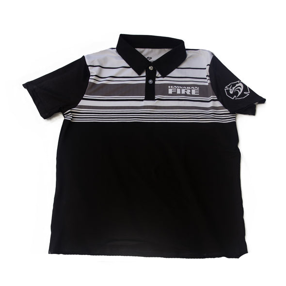 HF Striped Golf Shirt
