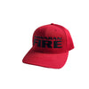 Hawaiian Fire Stacked Logo Baseball Hat