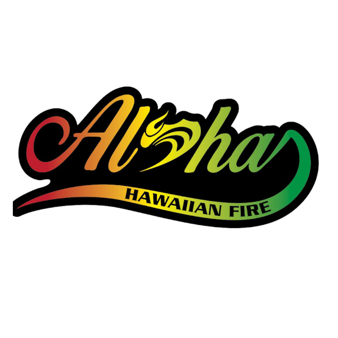 Aloha flow sticker rasta
