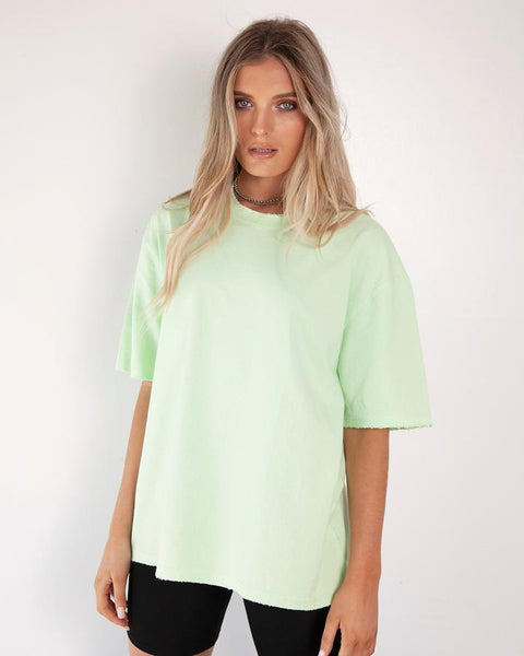 BOYFRIEND T-SHIRT - GREEN