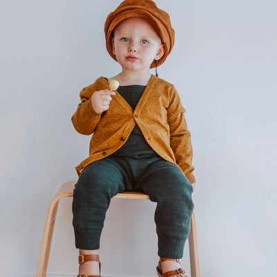 Little Boys Clothing Knitted Cardigan | Australian Kids Clothing Label