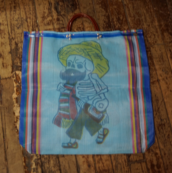 Day of the Dead Grocery Bag