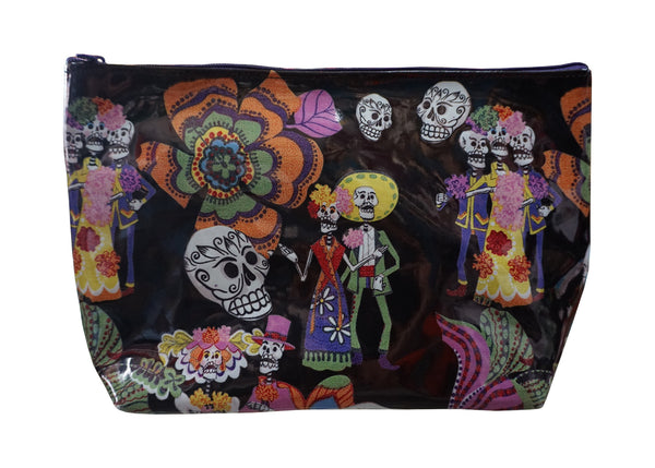 Skeleton Wedding Make-up Bag