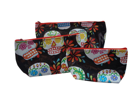 Sugar Skull Make-up Bag