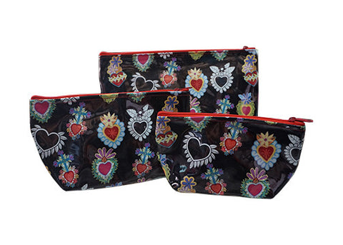 Sacred Heart Make-up Bag