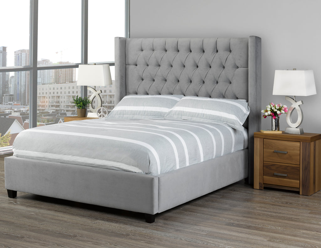 Candace And Basil Furniture - Custom Canadian-Made Upholstered Bed ...