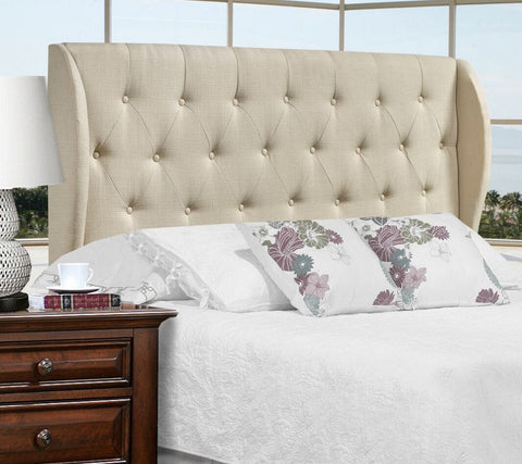 Beige Tufted Headboard | Candace & Basil Furniture
