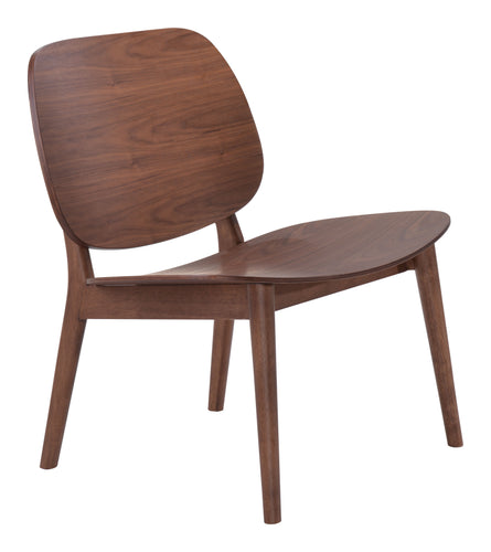 Lounge Chair Walnut (Set of 2)