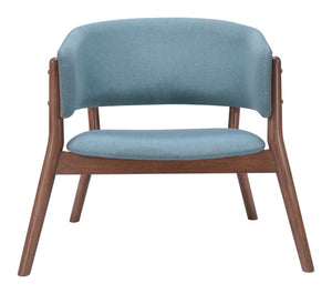 Lounge Chair Blue (Set of 2)