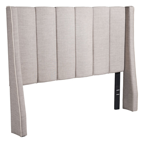 Full Headboard Only - Grey Linen