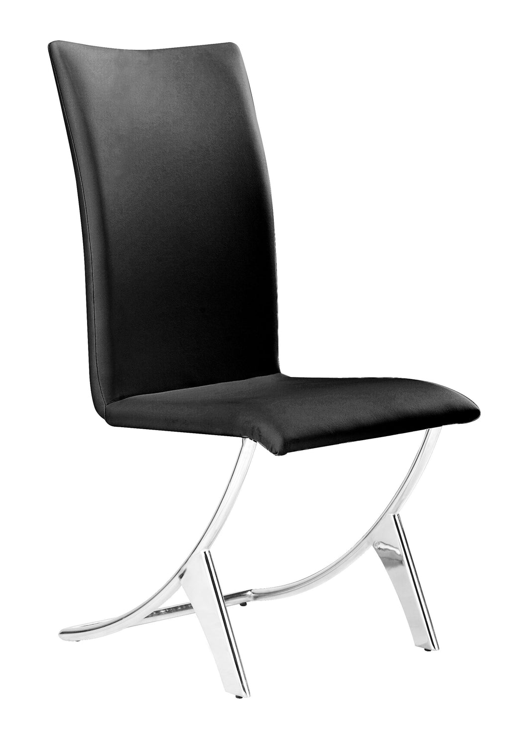 Dining Chair Black (Set of 2)