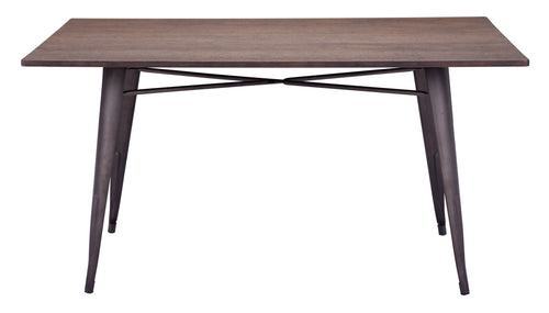 Rectangular Dining Table Rustic Wood