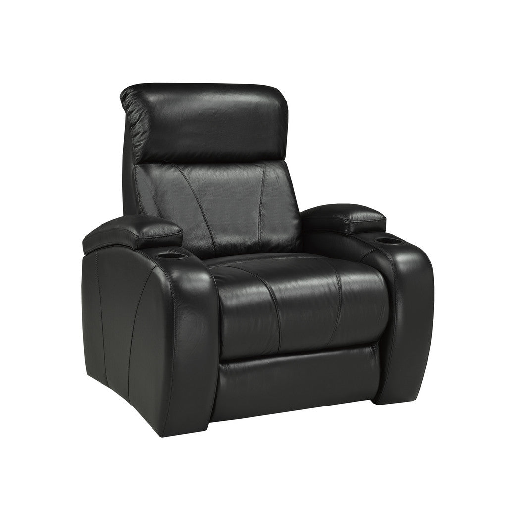 Leather Power Recliner | Candace and Basil Furniture