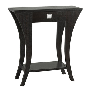 "Braydon Console Table, 31.5""L, Dark Cherry 