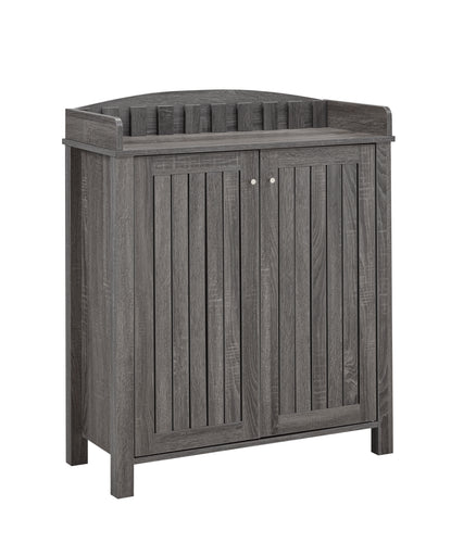 Barbara Shoe Cabinet (Grey) | Candace and Basil Furniture