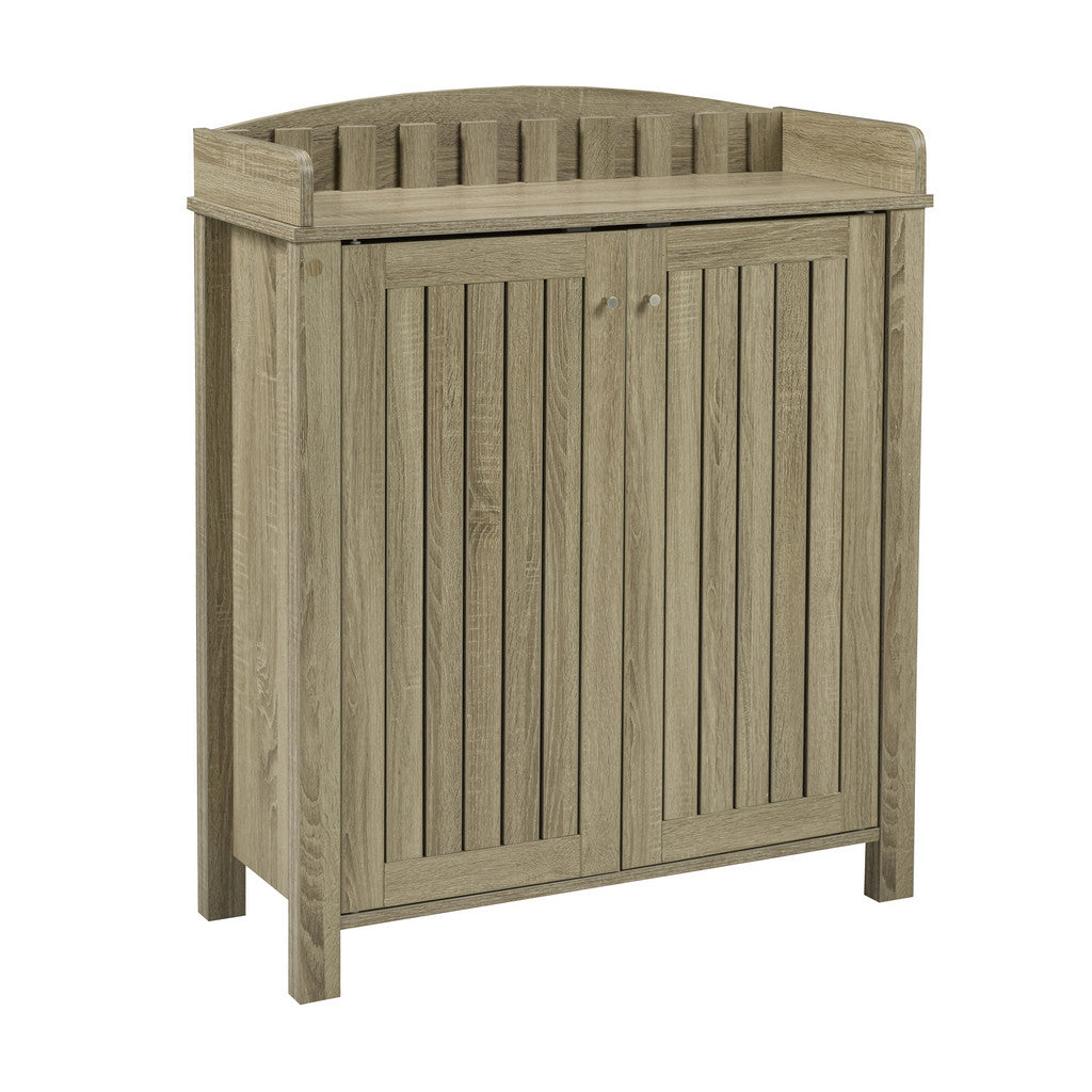 Barbara Shoe Cabinet (Dark Taupe) | Candace and Basil Furniture