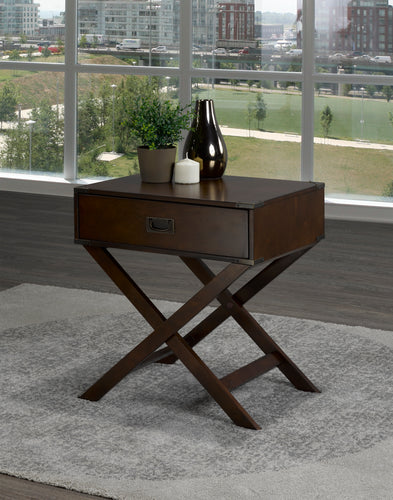 Soho Side Table - Espresso | Candace and Basil Furniture