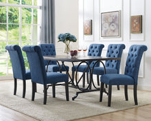 Load image into Gallery viewer, Tinga 7pc Dining Set - Blue | Candace and Basil Furniture
