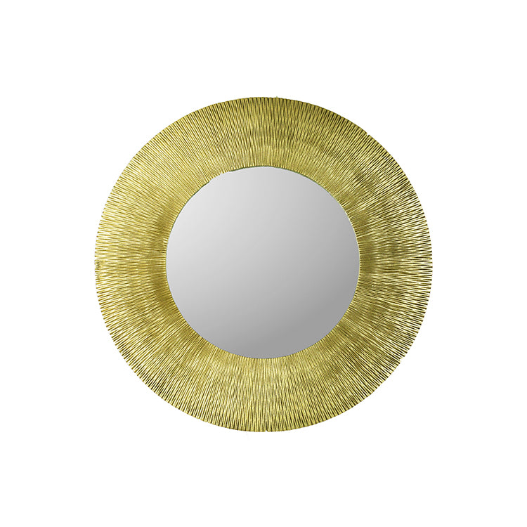 Champagne Resin Mirror - 48
