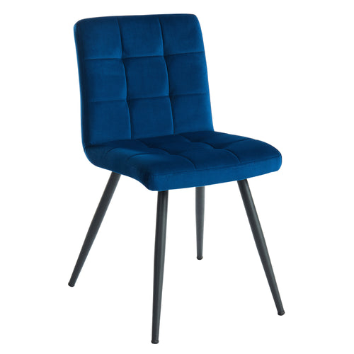 Suzette - Side Chair - Blue (Set of 2)