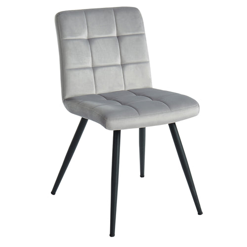 Suzette - Side Chair - Grey (Set of 2)