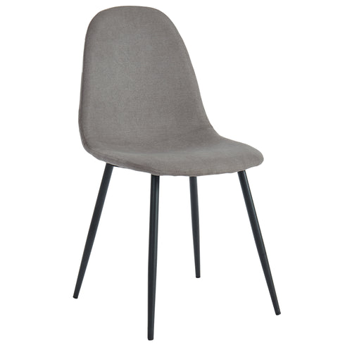 Olly - Side Chair - Grey (Set of 4)