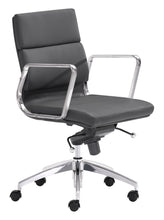 Load image into Gallery viewer, Low Back Office Chair Black