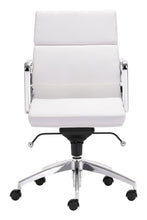 Load image into Gallery viewer, Low Back Office Chair White