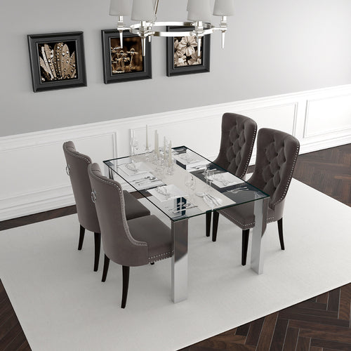 Frankfurt/Rizzo Gy - 5PC Dining Set