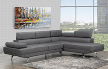 Load image into Gallery viewer, Aria RHF Sectional - Grey | Candace and Basil Furniture