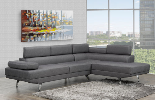 Aria Sectional - Grey