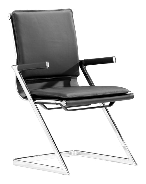 Conference Chair Black (Set of 2)