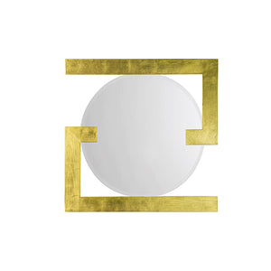 "Chic Gold Mirror - 32"" x 32"""