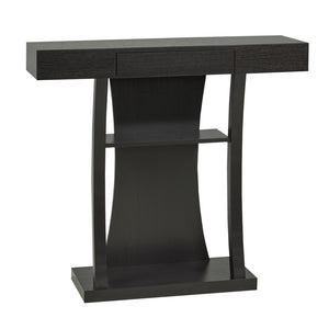 "Florence Storage Console Table, 36""L, Espresso 