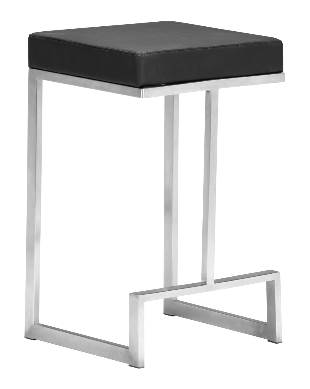 Counter Stool Black (Set of 2)