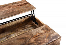 Load image into Gallery viewer, Orion Lift-Top Coffee Table - Natural Burnt