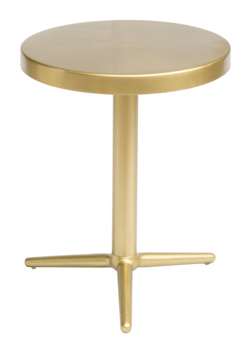 Accent Table Brass