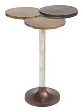 Load image into Gallery viewer, Accent Table Antique Brass
