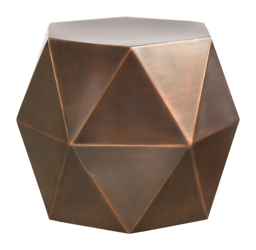 Accent Table Bronze