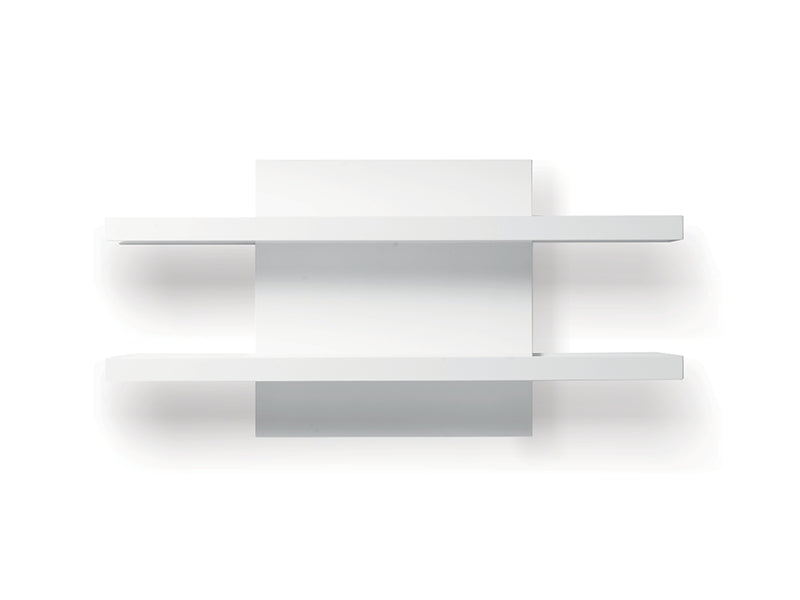 Floating Media Unit/ Display Shelf - Glossy White