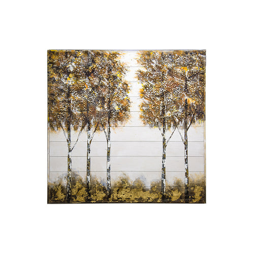 Metallic Autumn Trees - 40