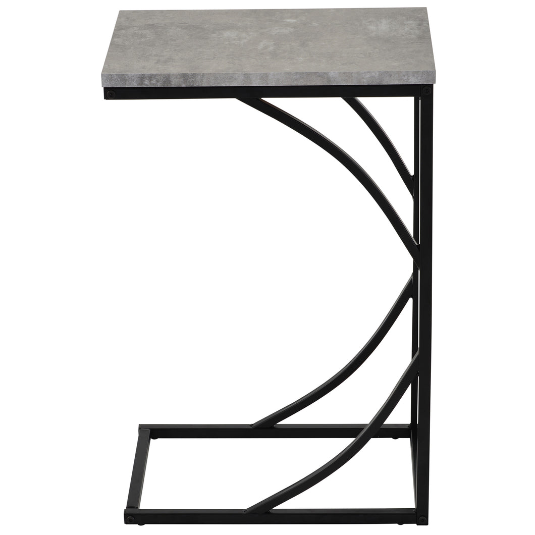Darcy - Accent Table - Cement