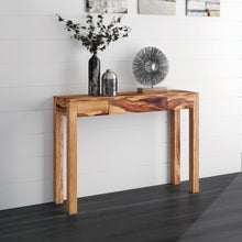 Load image into Gallery viewer, Idris - Console Table - Dark Sheesham