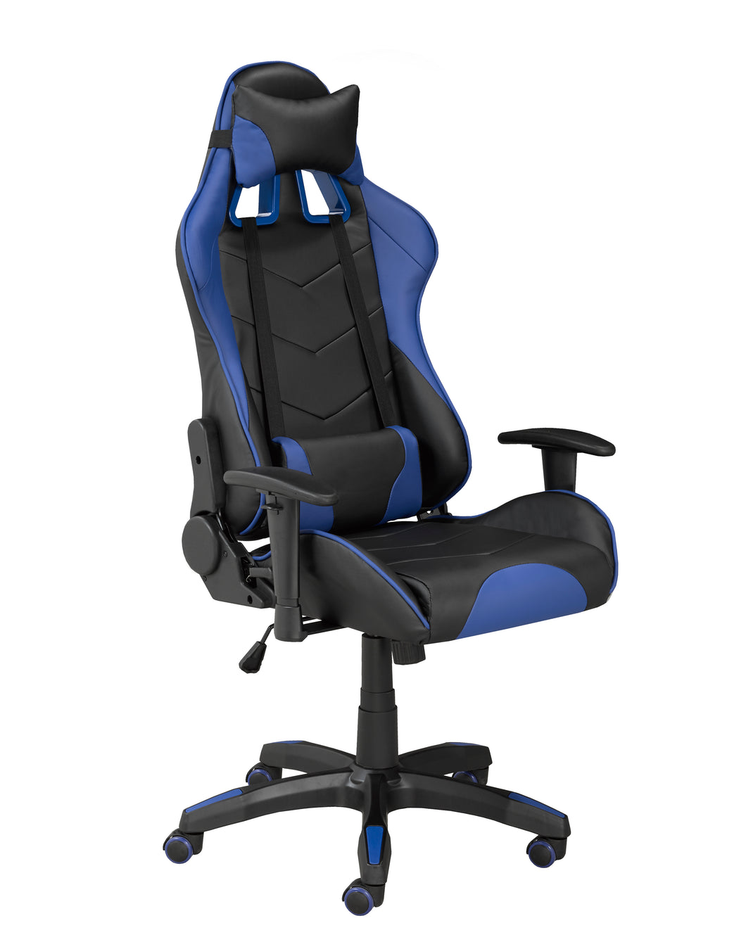 Sorrento Gaming Chair w/ Tilt - Blue | Candace and Basil Furniture