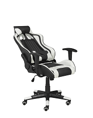 Avion Gaming Chair w/ Tilt - White | Candace and Basil Furniture