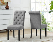 Load image into Gallery viewer, Tinga Dining Chairs (Set of 2) - Grey | Candace and Basil Furniture
