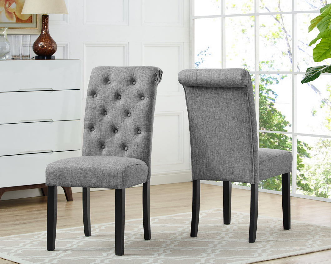 Tinga Dining Chairs (Set of 2) - Grey | Candace and Basil Furniture