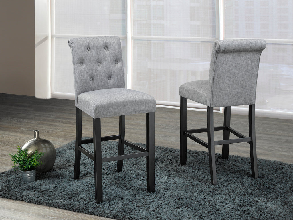 "Tinga 29"" Bar Stools (Set of 2) - Grey 