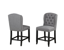 Load image into Gallery viewer, Tinga Captain Counter Chair (Set of 2) - Grey Linen